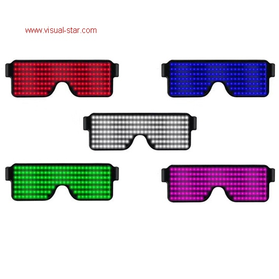 Led light screen glasses