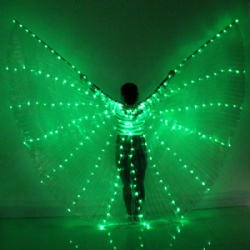 Led light isis wings