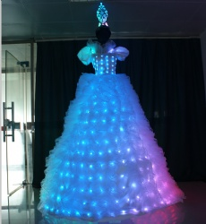 Stilts led performance dress