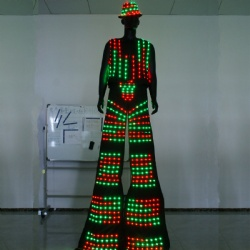 Led stilts vest and pants