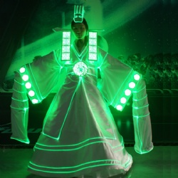 Led light Hanbok costume