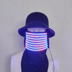 Led light pixel mask