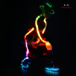 Michael Jackson led dance costume