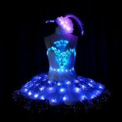 Light up tutu dance dress