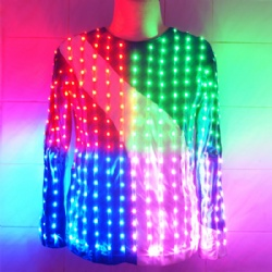 Full color led light suit
