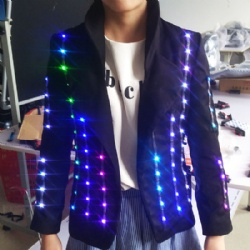 Full color led suit